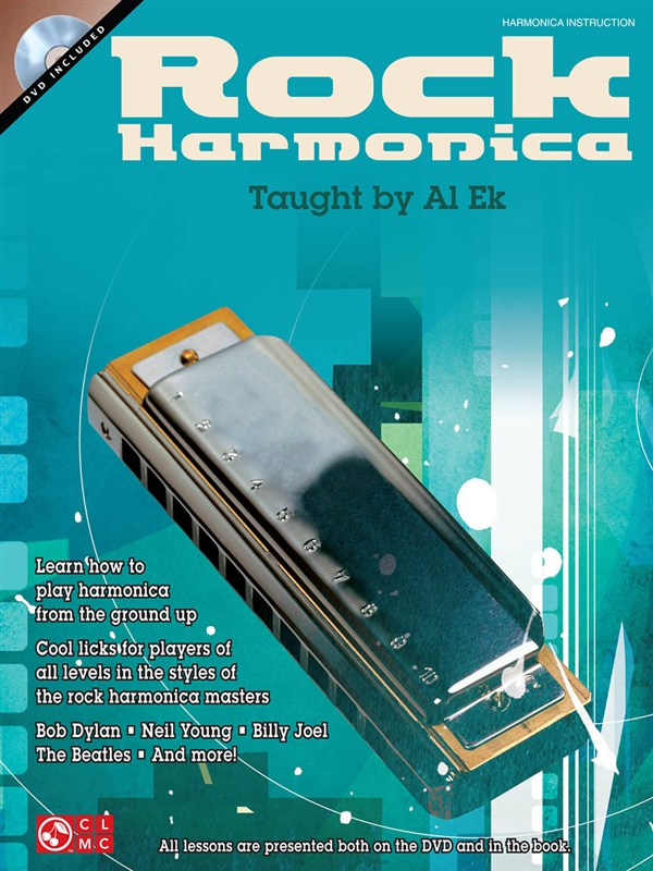 Ek Al - Rock Harmonica + Dvd - Harmonica