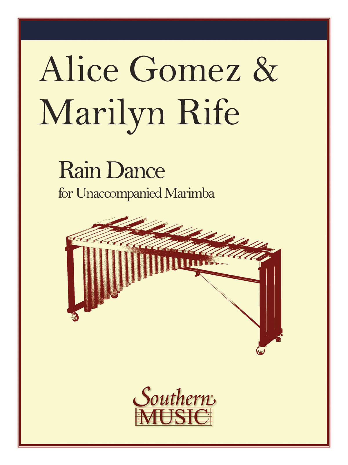 Gomez Alice and Rife Marilyn - Rain Dance - Marimba