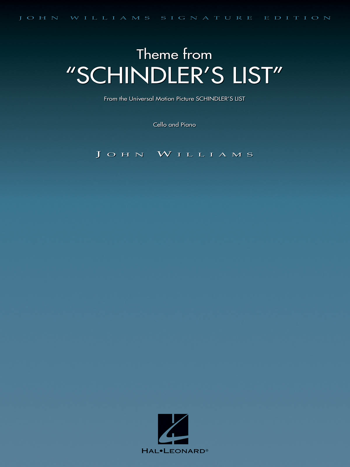 John Williams - Theme From Schindler's List - Violoncelle and Piano