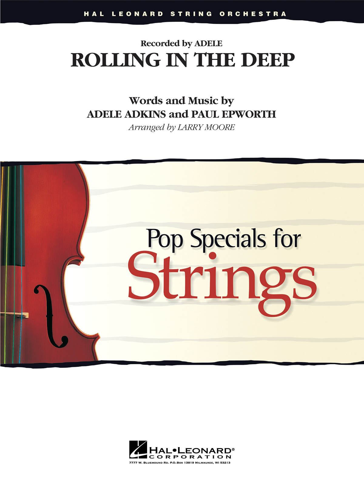 Adele - Rolling In The Deep (arr. Larry Moore) - Score and Parts