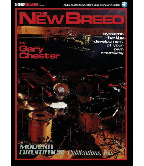 CHESTER GARY - NEW BREED REVISED + MP3 - BATTERIE