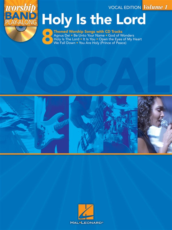 Worship Band Playalong Volume 1 - Holy Is The Lord Vocal Edition - Voice