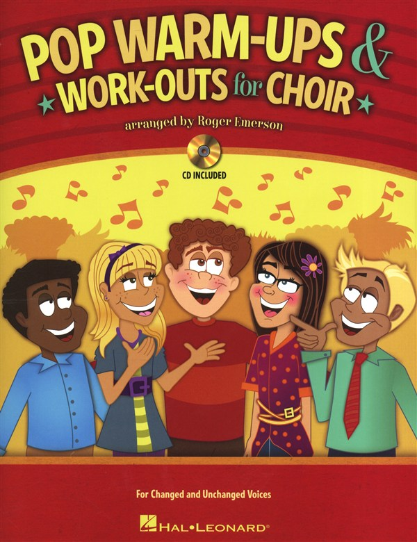 EMERSON ROGER - POP WARM-UPS AND WORK-OUTS FOR CHOIR CHOR + CD - VOICE
