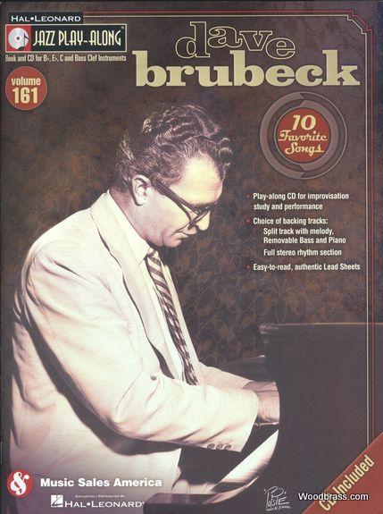 Jazz Play Along Vol.161 - Dave Brubeck - Bb, Eb, C Inst. Cd