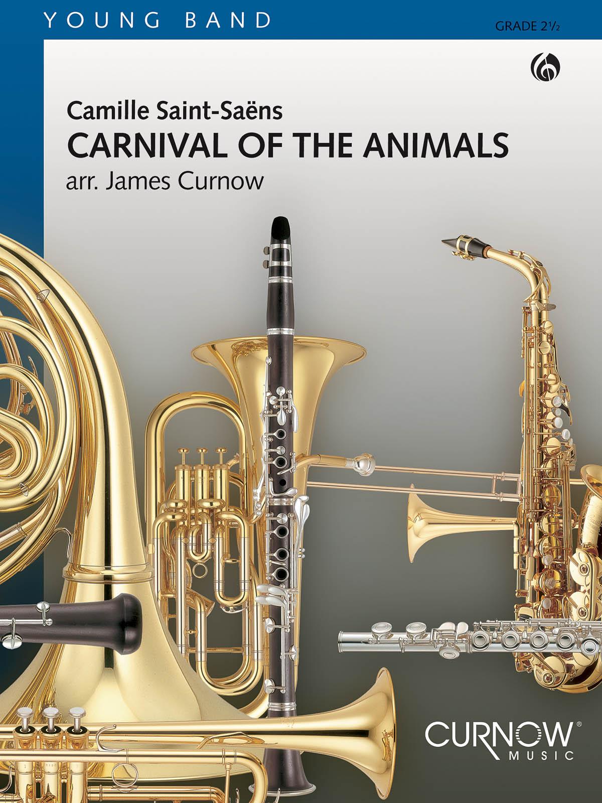 Saint-saens Camille - Carnaval Des Animaux - Score and Parts