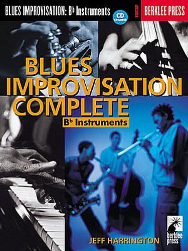 Harrington Jeff - Blues Improvisation Complete Pour Instruments En Sib + Cd