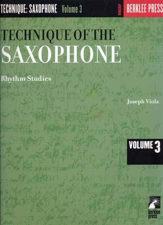 Viola Joseph - Technique Of The Saxophone Vol.3
