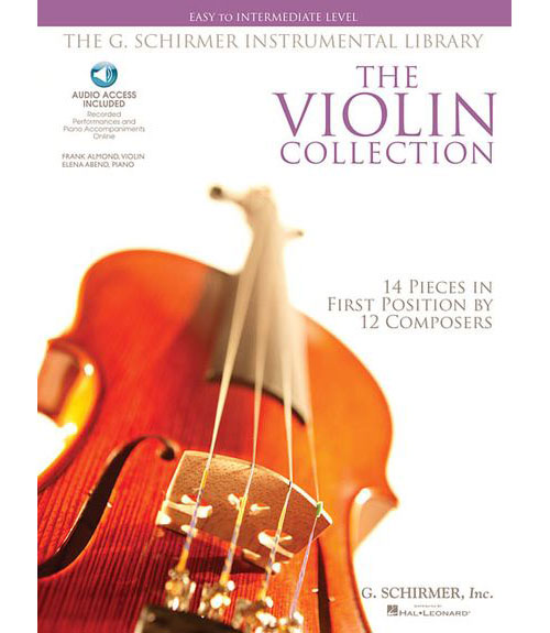 VIOLIN COLLECTION + MP3, EASY TO INTERMEDIATE LEVEL