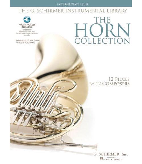HORN COLLECTION + MP3, INTERMEDIATE LEVEL - COR, PIANO