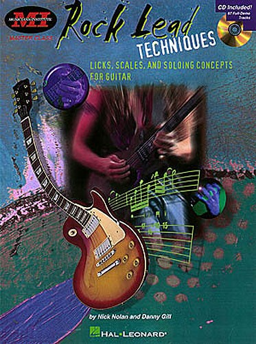 GILL DANNY - ROCK LEAD TECHNIQUES - TECHNIQUES, SCALES AND FUNDAMENTALS FOR GUITAR [WITH *] - GUITAR