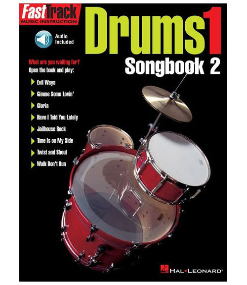 Fast Track - Drums Vol.1 Songbook + 2 Cd