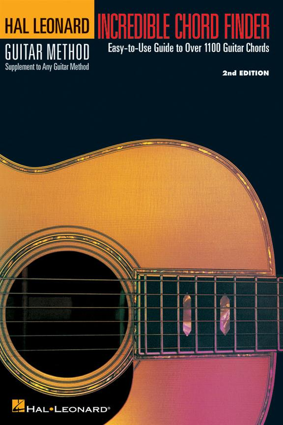 HAL LEONARD INCREDIBLE CHORD FINDER (SMALL FORMAT) - DICTIONNAIRE ACCORDS GUITARE