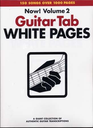 White Pages Guitar Vol.2 - Guitar Tab