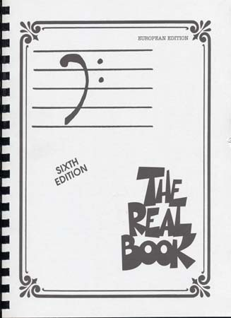 REAL BOOK 6TH EDITION BASS CLEF