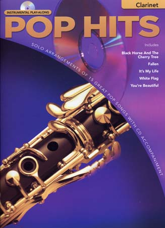 Instrumental Play Along - Pop Hits + Cd - Clarinet