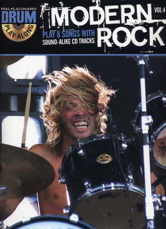 Drum Play Along Vol.4 Modern Rock + Cd - Batterie