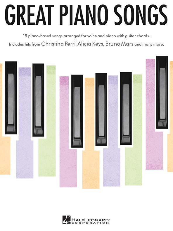 GREAT PIANO SONGS - PVG