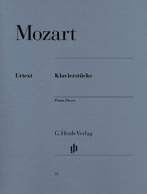 Mozart W.a. - Piano Pieces
