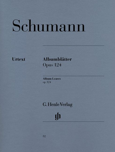 SCHUMANN R. - ALBUM LEAVES OP. 124