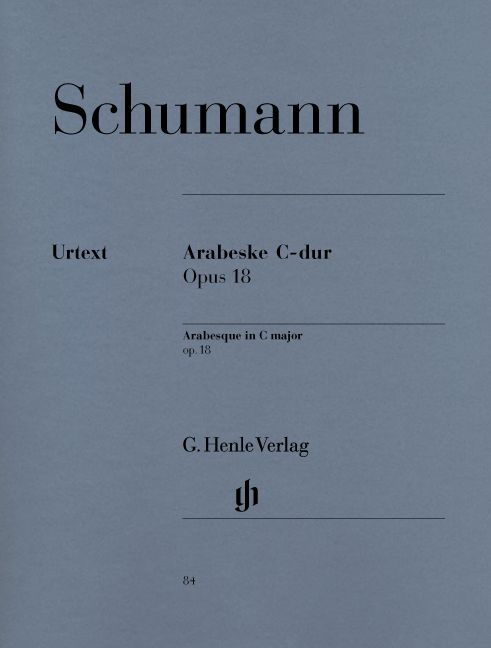 SCHUMANN R. - ARABESQUE C MAJOR OP. 18