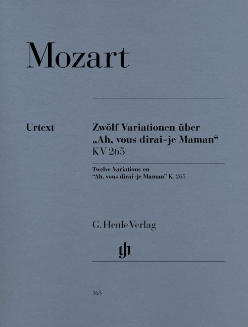 MOZART W.A. - 12 VARIATIONS ON