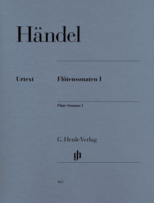 Haendel G.h. - Flute Sonatas, Volume I  (with Separate Flute/basso Continuo Part (two Copies))