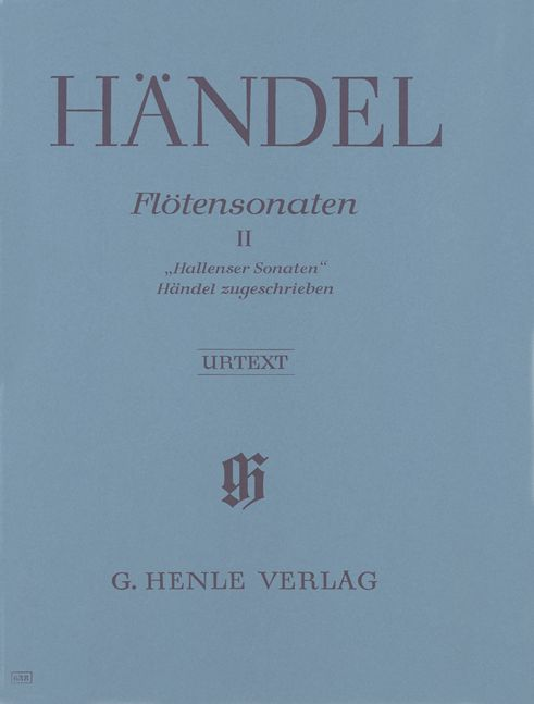 Haendel G.h. - Flute Sonatas, Volume Ii  [hallenser-sonatas], Three Sonatas Attributed To Handel