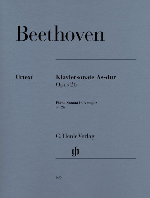BEETHOVEN L.V. - PIANO SONATA NO. 12 A-FLAT MAJOR OP. 26
