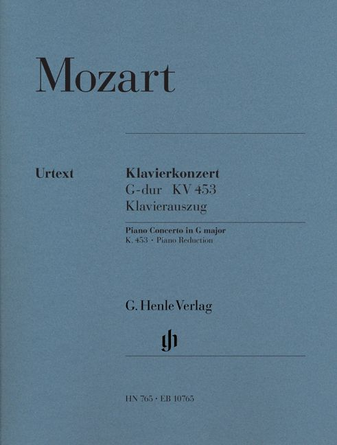 MOZART W.A. - CONCERTO FOR PIANO AND ORCHESTRA G MAJOR K. 453 - 2 PIANOS