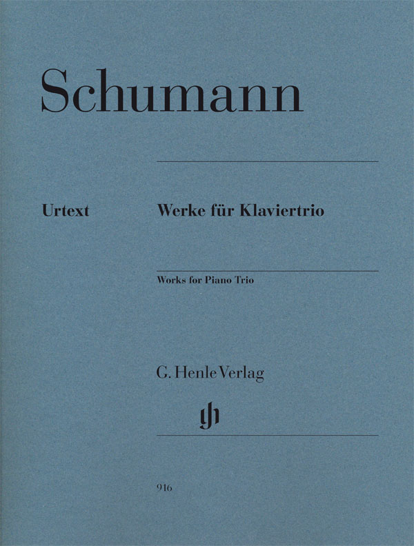 SCHUMANN R. - PIANO TRIO AND FANTASY PIECES OP. 88