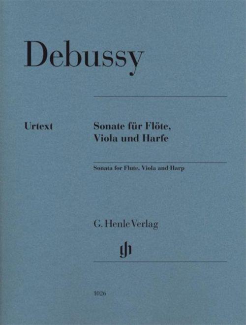 Debussy C. - Sonate Pour Flute, Alto and Harpe