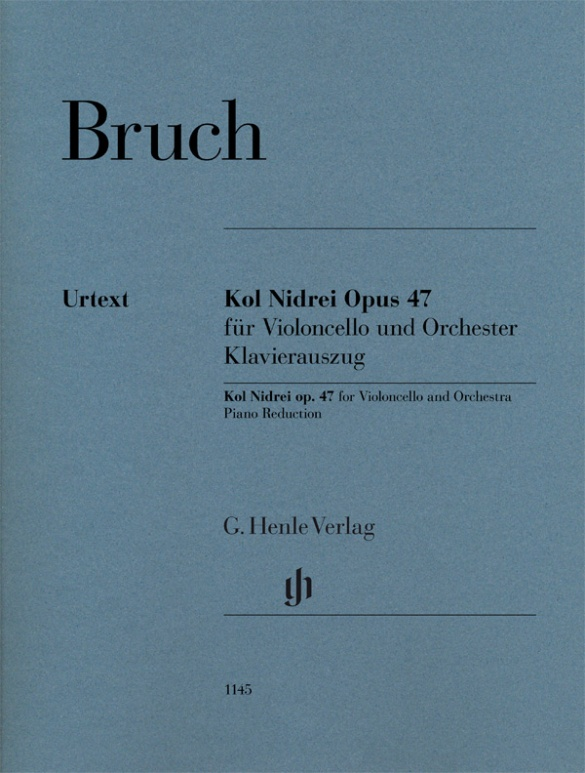 Bruch Max - Kol Nidrei Op.47 - Violoncelle and Piano