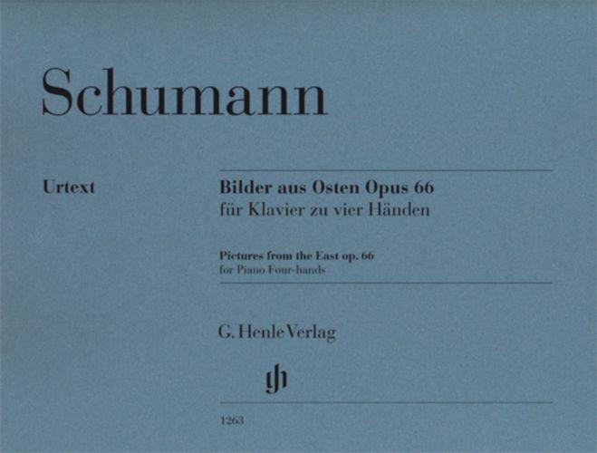 Schumann R. - Bilder Aus Osten Op.66 - Piano 4 Mains