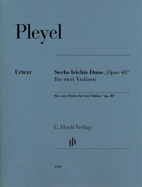 Pleyel Ignaz - 6 Duos Faciles Op.48 - 2 Violons