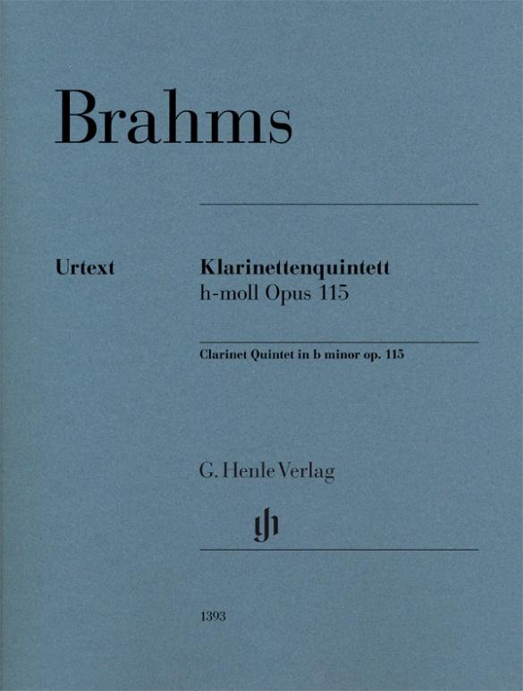 Brahms J. - Quintette Avec Clarinette Op.115 - Parties Separees