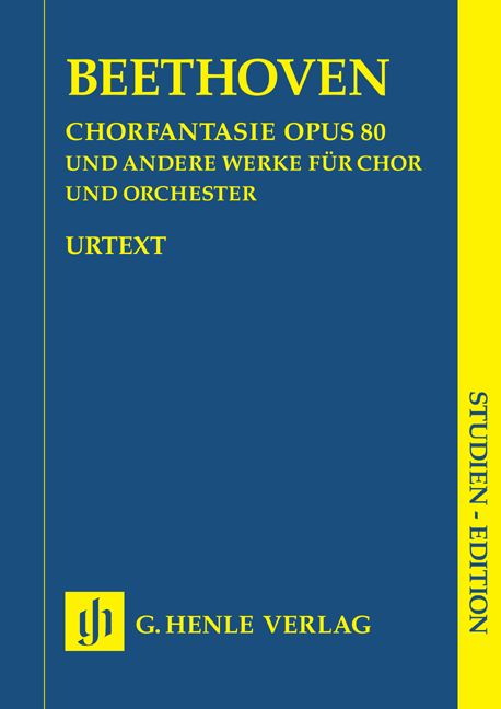 BEETHOVEN L.V. - CHORUS FANTASY C MINOR OP. 80 AND OTHER WORKS (OP. 112, 118, 121B, 122, WOO 95)