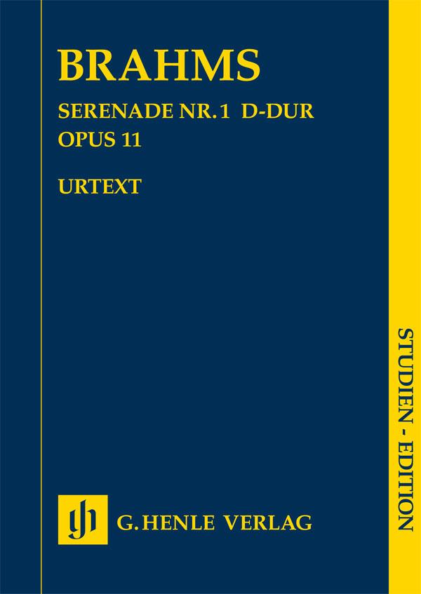 Brahms J. - Serenade N°1 En Re Majeur Op.11 - Conducteur
