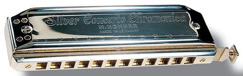 HOHNER CONCERTO ARGENT 12 TROUS C DO