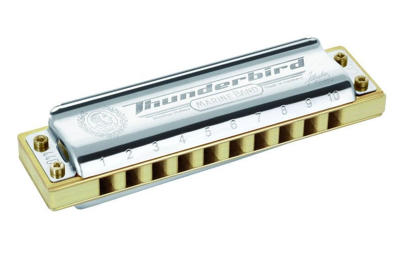 DIATONIC 2011/20 MARINE BAND THUNDERBIRD 10 HOLES LOW G SOL