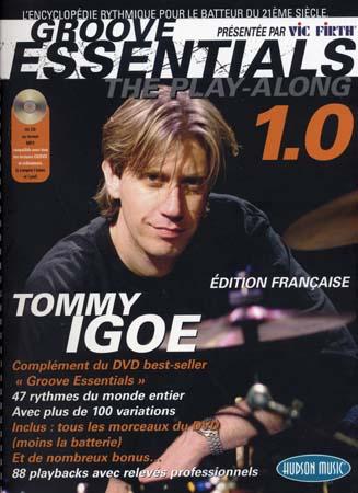 Igoe Tommy - Groove Essentials Play-along Drums 1.0 + Cd - Batterie