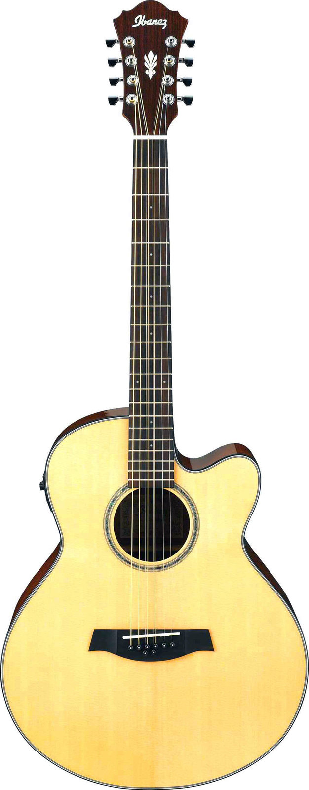 Ibanez Ael108md-nt (8 D Et G Doublees) Natural