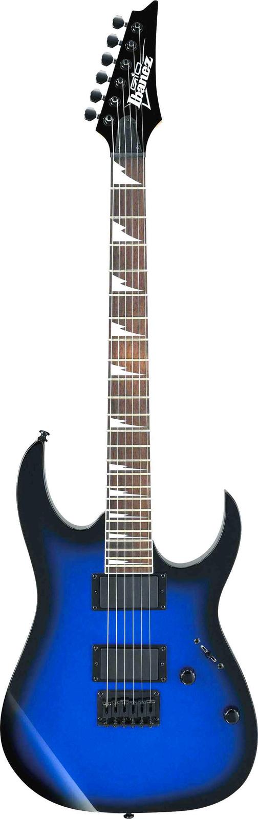 Ibanez Grg121dx-sls Starlight Blue Sunburst