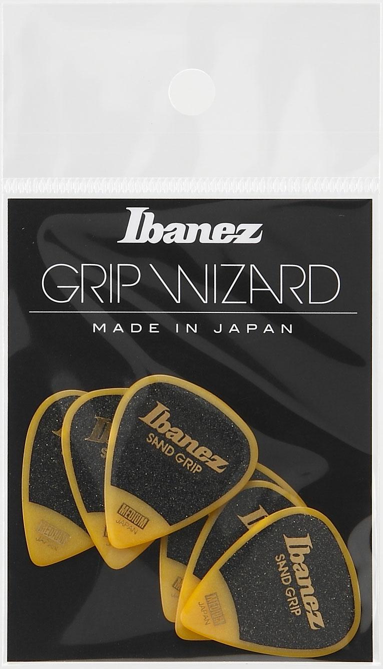 Ibanez  Pick Grip Wizard Ppa14msg-ye Yellow X6