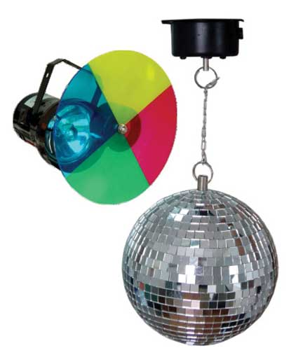 ibiza boule a facettes 20cm concert lighting buy online free. Black Bedroom Furniture Sets. Home Design Ideas