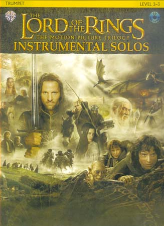 Lord Of The Rings Instrumental Solos - Trompette + Cd