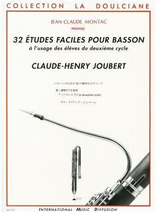 Joubert C. H. - 32 Etudes Faciles Pour Basson