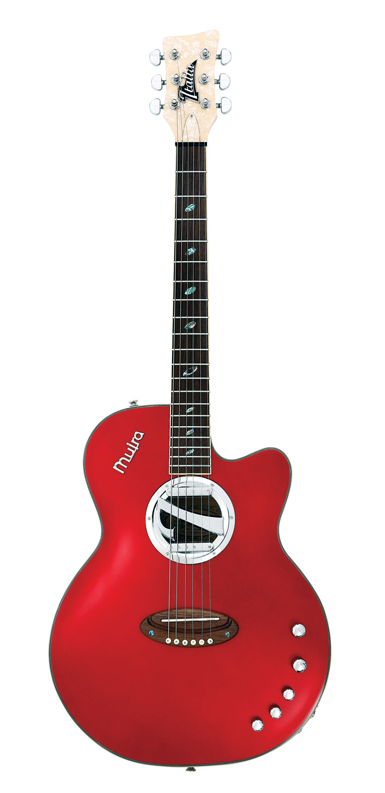 Italia muira red metallic housse deluxe guitares for Housse guitare electrique