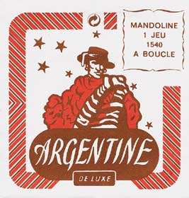 Savarez 1540 Argentine Mandoline 8 Cordes