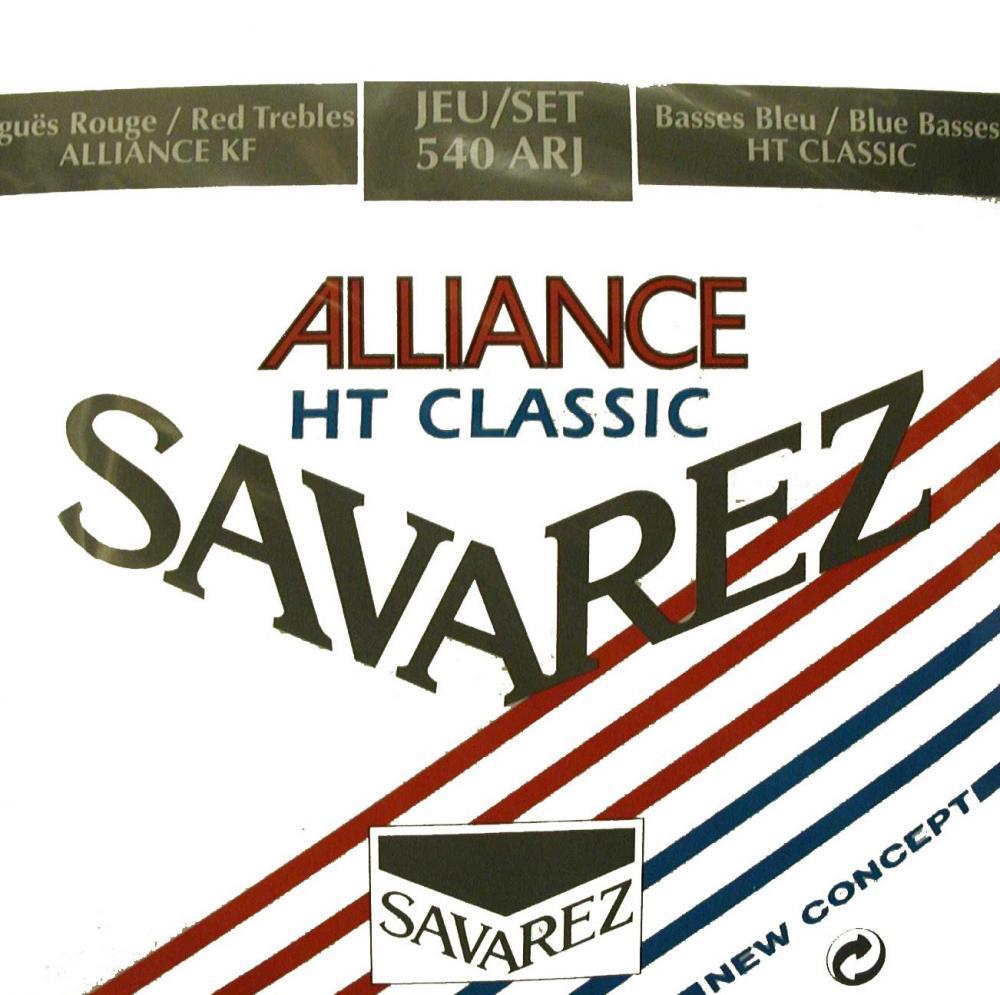 Savarez 540arj Alliance Rouge/bleu Tirant Normal/fort