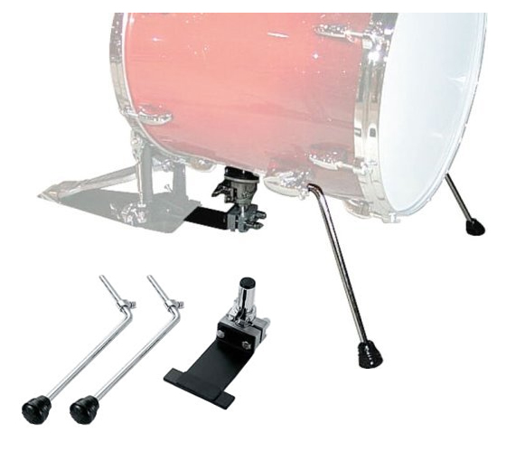 JG-16 JUNGLE GIG - FLOOR TOM TO BASS DRUM CONVERSION KIT